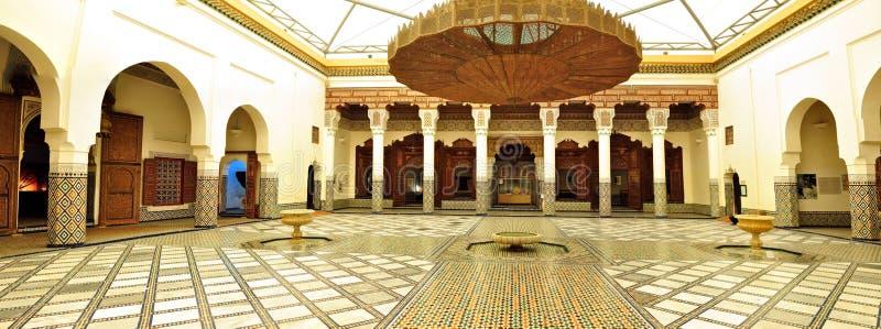 Arabisch paleis stock foto