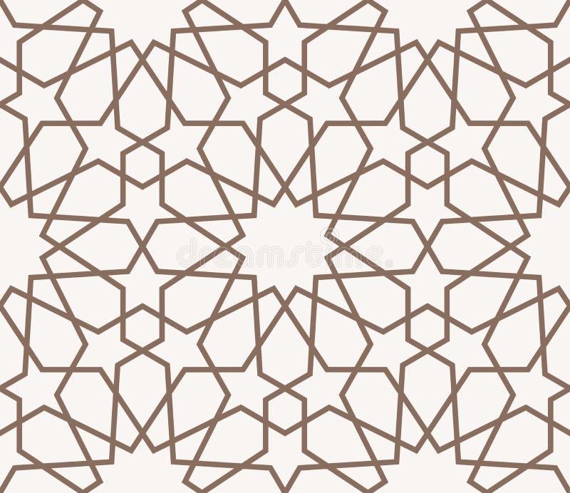 Arabisch patroon royalty-vrije illustratie
