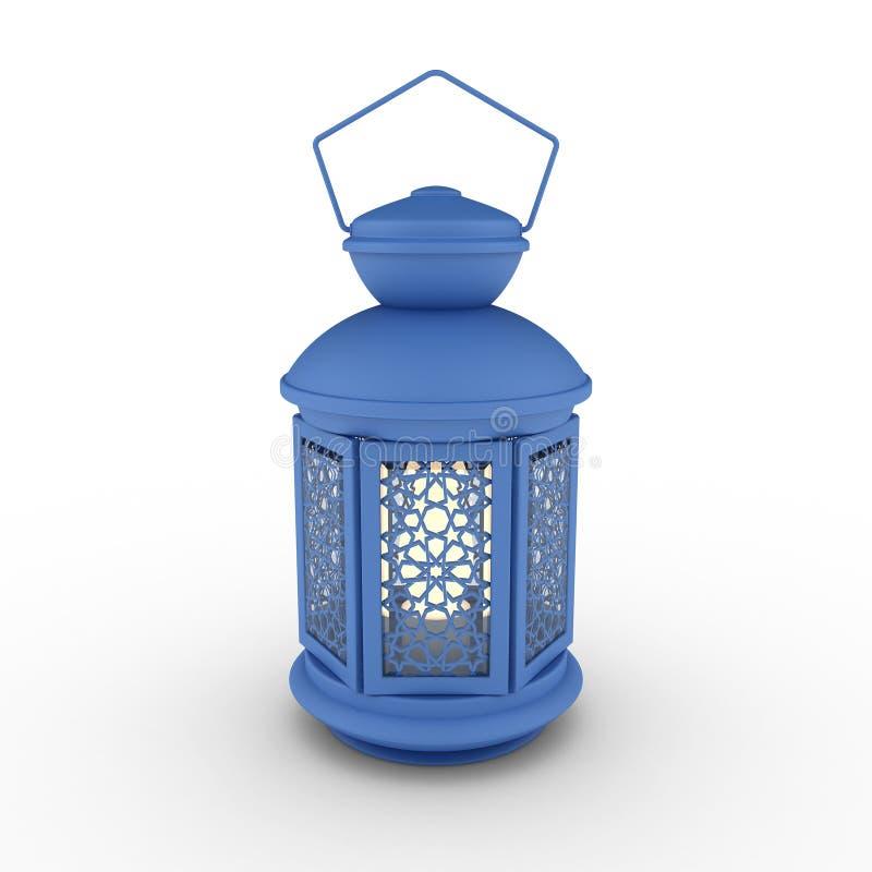 Arabisch Ramadan Lantern stock illustratie