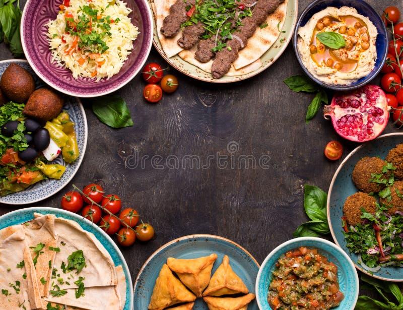 Arabisch richtet Hintergrund an stockfotos