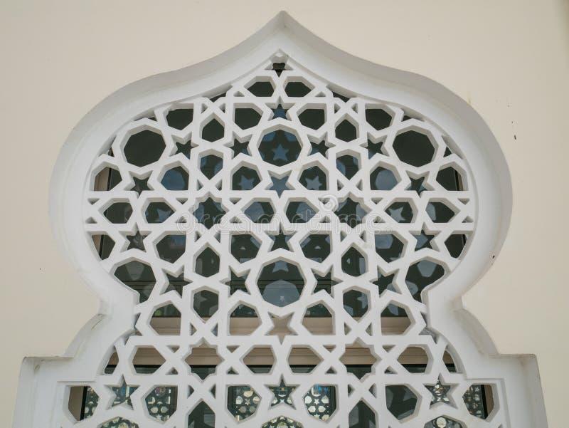 Arabisch Stijlornament op een Muur, Islamitisch Ornament royalty-vrije stock afbeeldingen