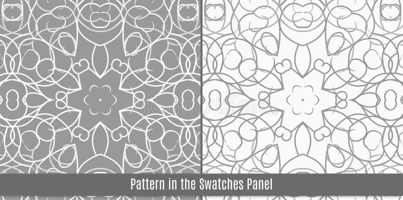 Arabisch tegels naadloos patroon stock illustratie