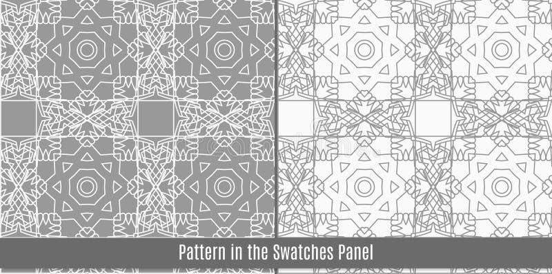 Arabisch tegels naadloos patroon royalty-vrije illustratie