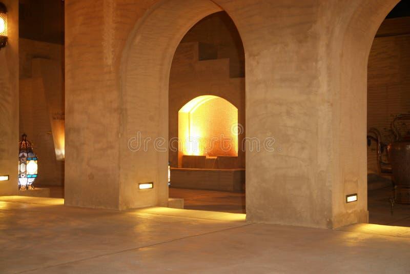 Arabische architectuur stock afbeeldingen