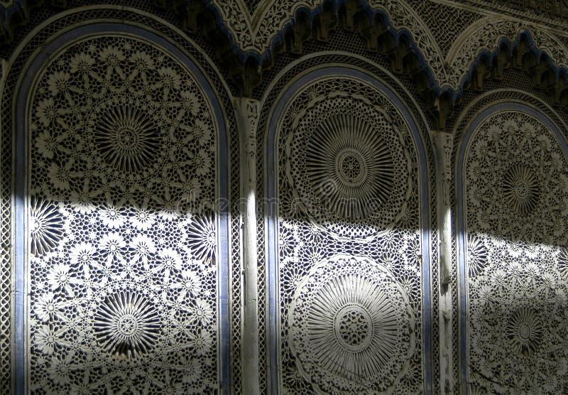 Arabische Dekorationswand stockfoto