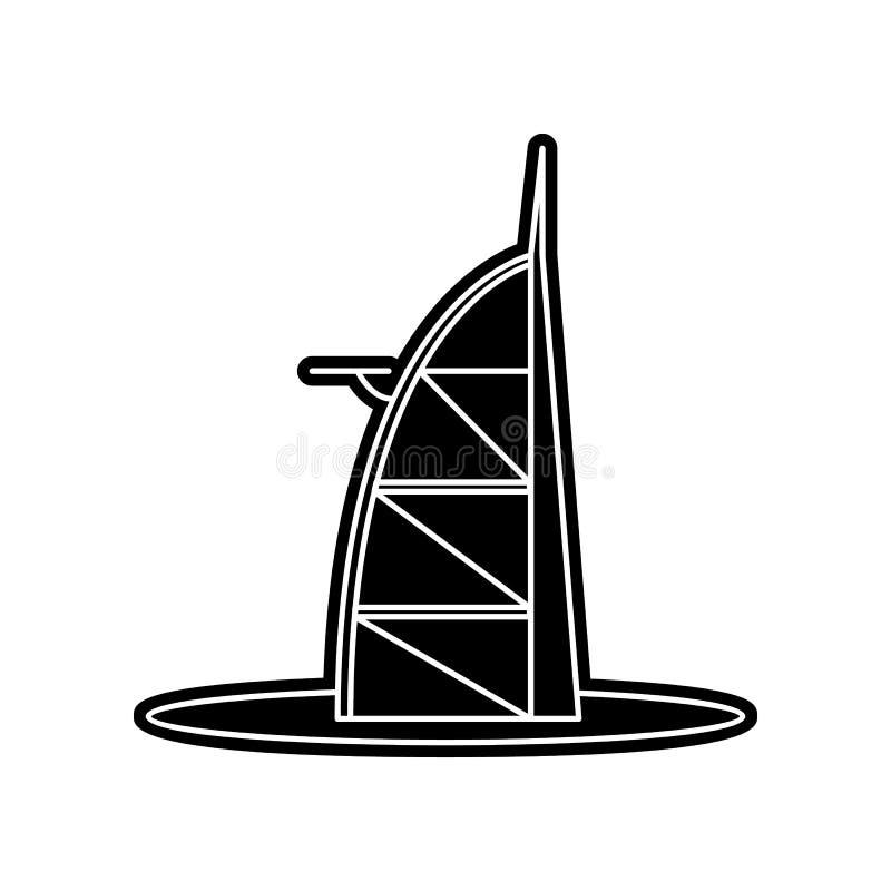 Arabische Geb?udeikone Element von arabischem f?r bewegliches Konzept und Netz Appsikone Glyph, flache Ikone f?r Websiteentwurf u vektor abbildung