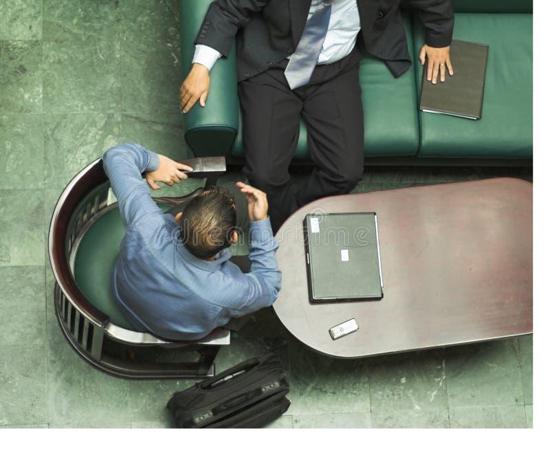 Arabische Geschäftsmänner stockfoto
