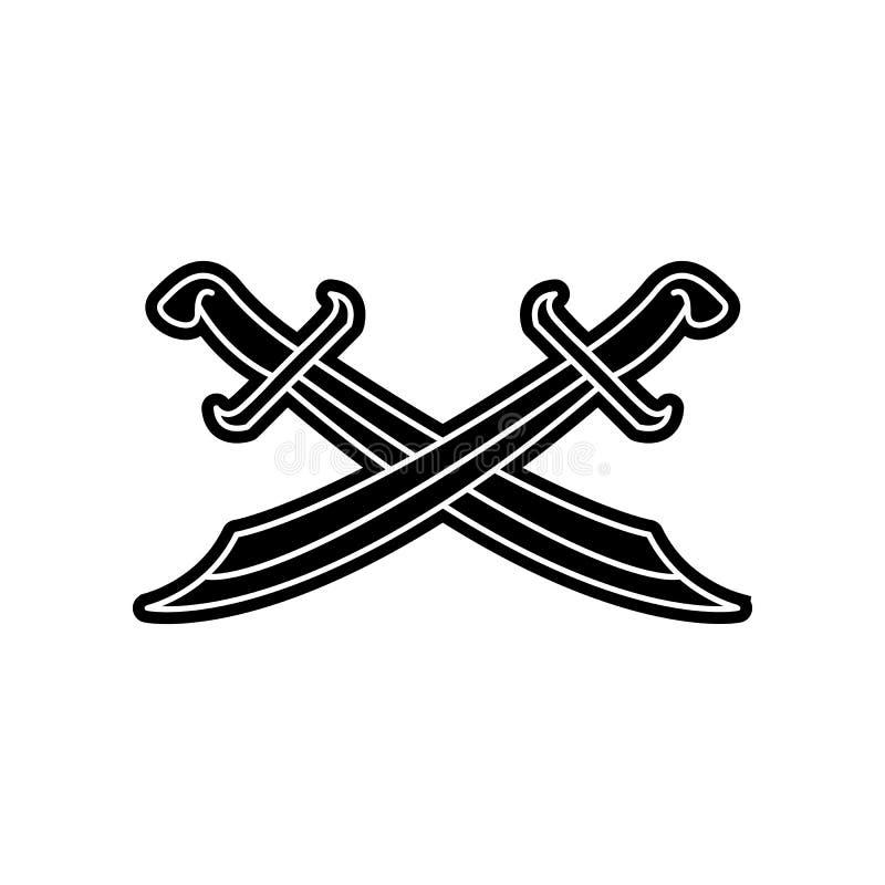 arabische Klingenikone Element von arabischem f?r bewegliches Konzept und Netz Appsikone Glyph, flache Ikone f?r Websiteentwurf u stock abbildung