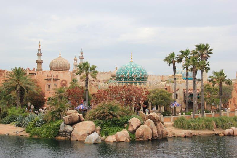 Arabische Kust in Tokyo DisneySea royalty-vrije stock foto
