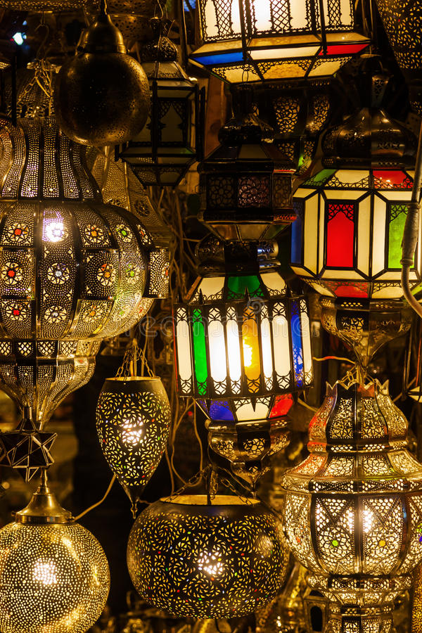 arabische lampen stockbild bild von lampe lampen handwerke 36907315. Black Bedroom Furniture Sets. Home Design Ideas