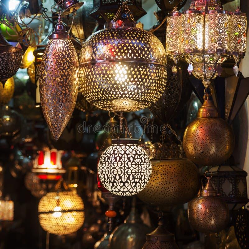 arabische lampen in marrakech stock foto afbeelding bestaande uit licht vakmanschap 36782496. Black Bedroom Furniture Sets. Home Design Ideas