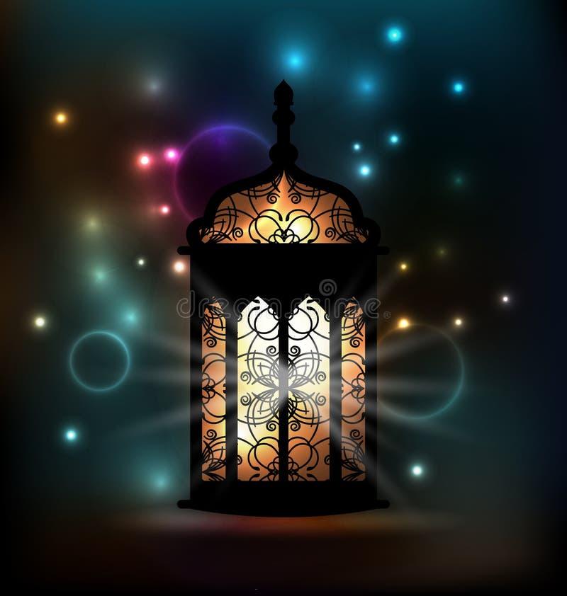 Arabische lantaarn met sierpatroon voor Ramadan Kareem