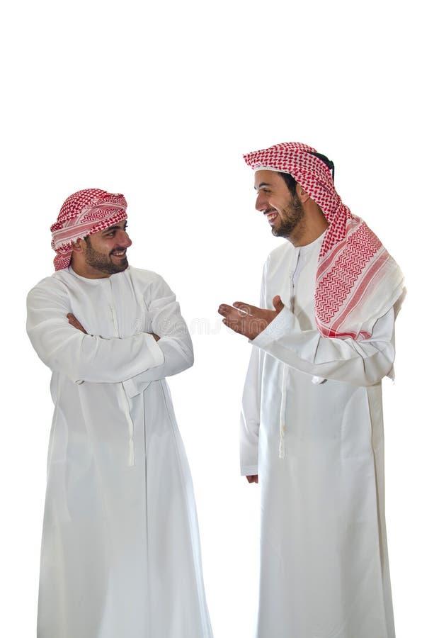 Arabische Männer lizenzfreie stockbilder
