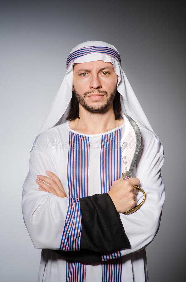 Arabische mens royalty-vrije stock fotografie