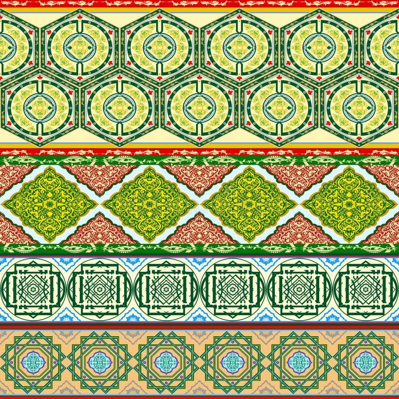 arabische muster vektor abbildung illustration von dekor