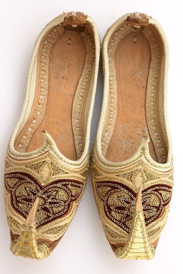 Arabische schoenen 5 stock foto's