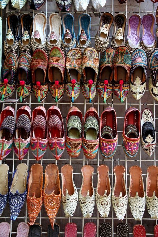 Arabische schoenen royalty-vrije stock foto's
