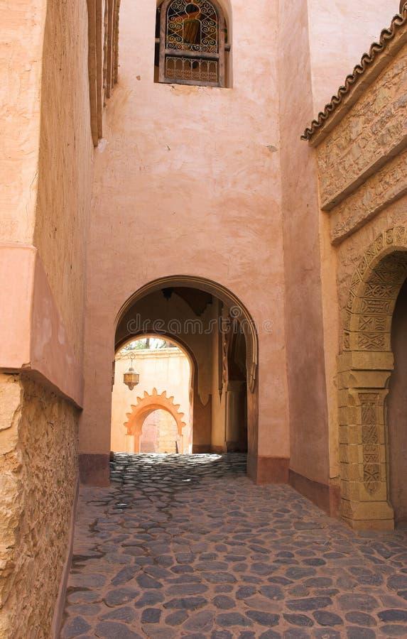 Arabische Straße lizenzfreies stockfoto