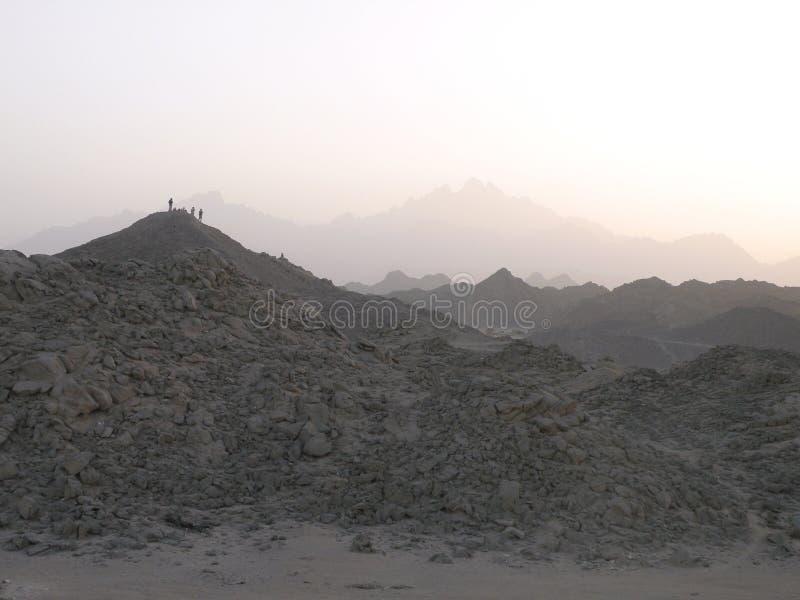 Arabische Wüste lizenzfreies stockfoto