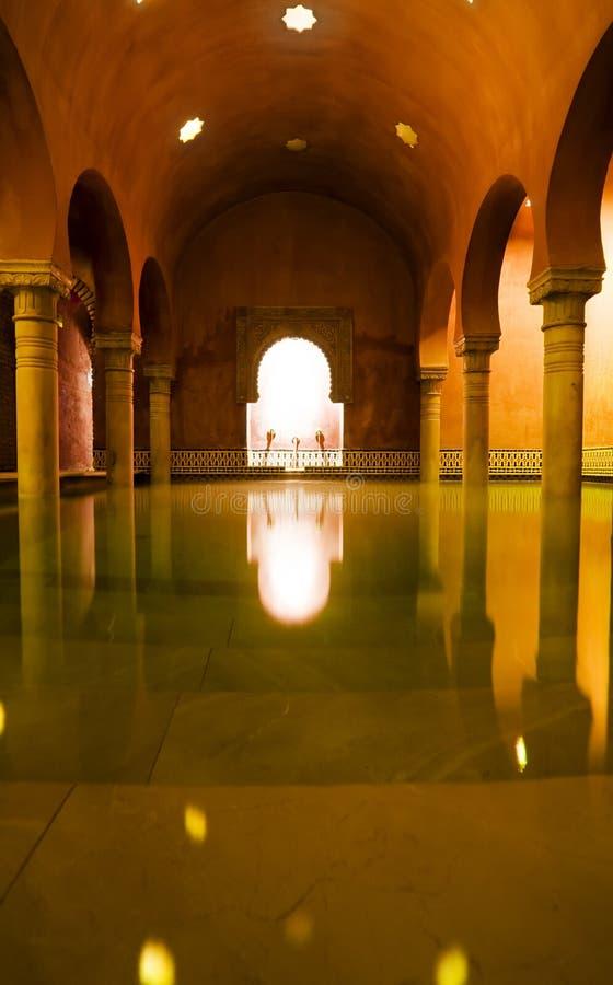 Arabischer Badekurort stockfotografie