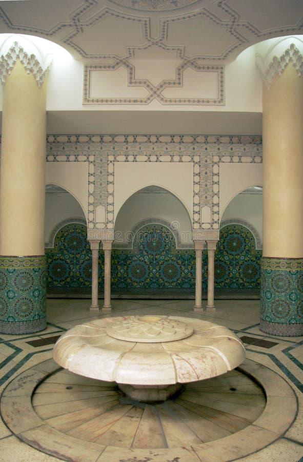 Arabischer Innenraum der Abbildung lizenzfreies stockbild