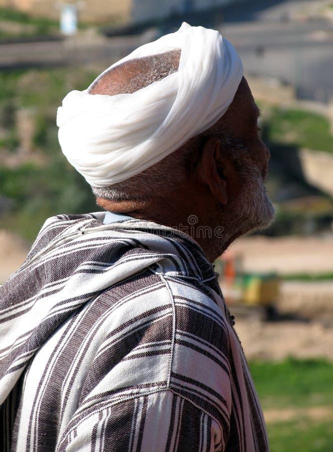 Arabischer Mann stockfotografie