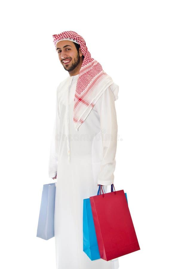 Arabischer Mann lizenzfreies stockfoto