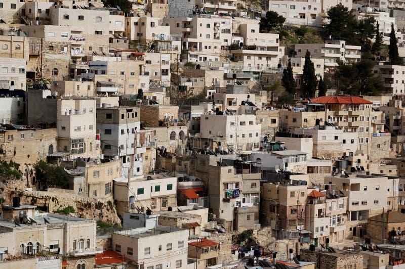 Arabisches Dorf in Israel lizenzfreie stockfotografie