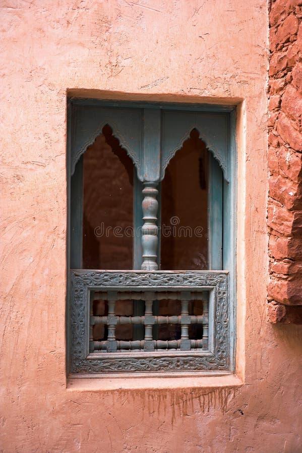 Arabisches Fenster lizenzfreie stockbilder