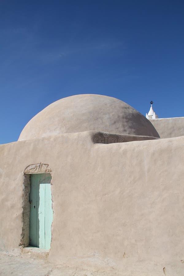 Arabisches Gebäude des Whitewash stockbild