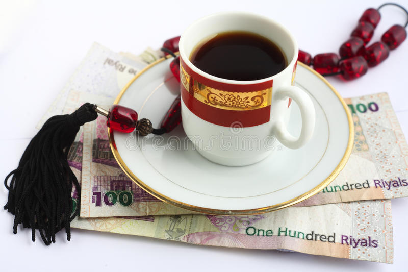 Arabisches Geschäft lizenzfreies stockbild