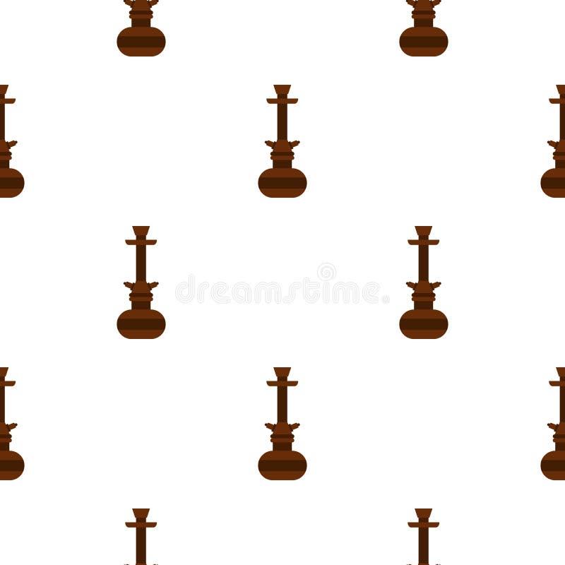 Arabisches Hukamuster Browns nahtlos lizenzfreie abbildung