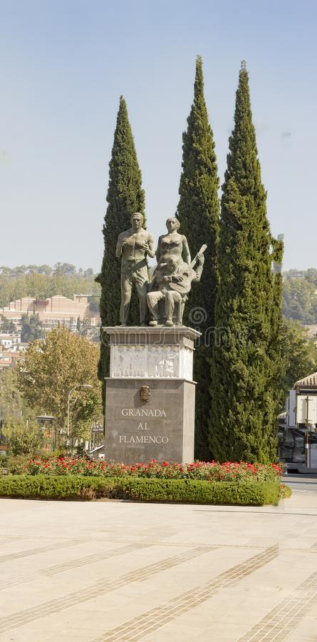 Arabisches Stadterbe Granadas Albaicin Alhambra von Menschlichkeit und von seiner stockfoto