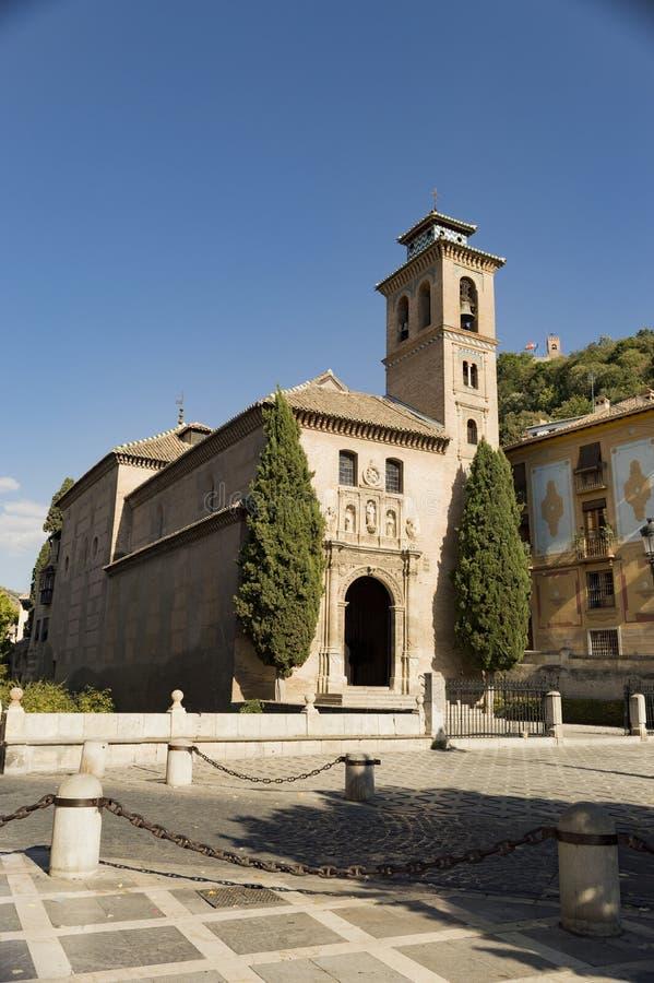 Arabisches Stadterbe Granadas Albaicin Alhambra von Menschlichkeit und von seiner lizenzfreie stockfotos