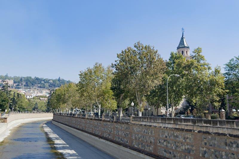 Arabisches Stadterbe Granadas Albaicin Alhambra von Menschlichkeit und von seiner lizenzfreies stockbild
