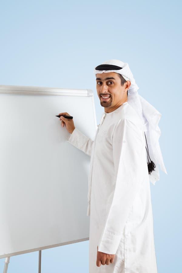 arabisk affärsman royaltyfria foton
