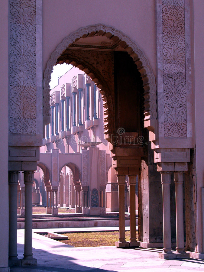 arabisk arkitektur arkivbild