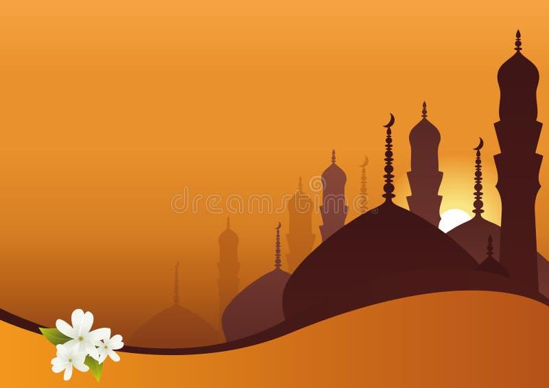 arabisk bakgrund vektor illustrationer