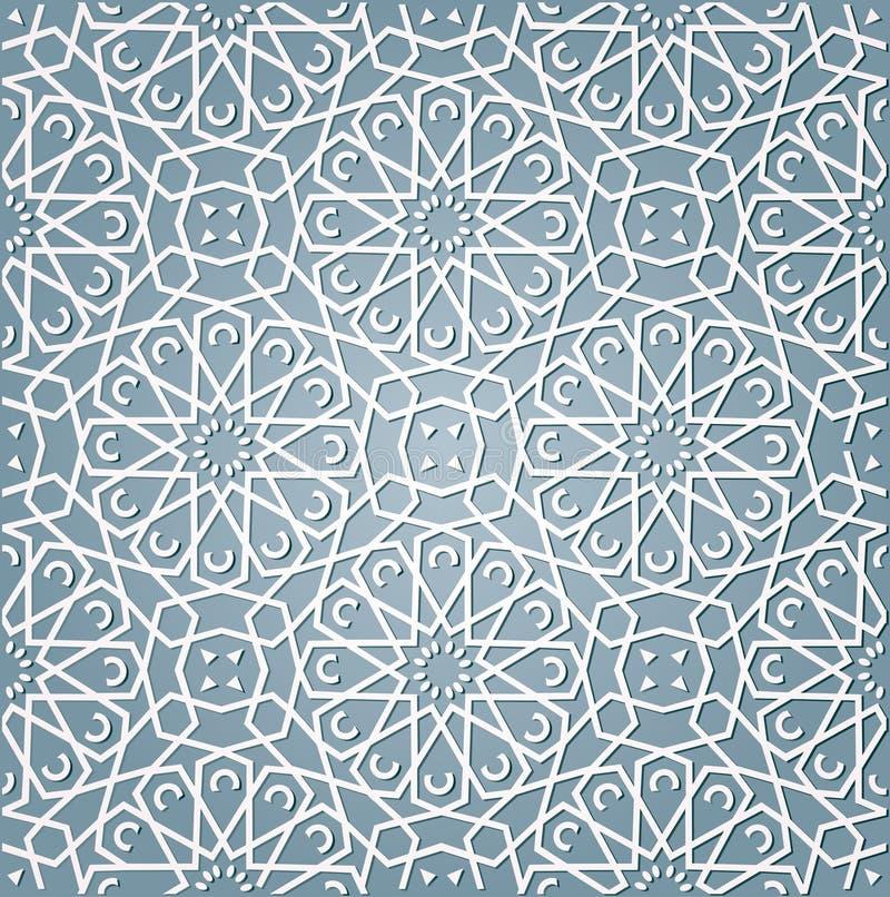 arabisk bakgrundsstil royaltyfri illustrationer