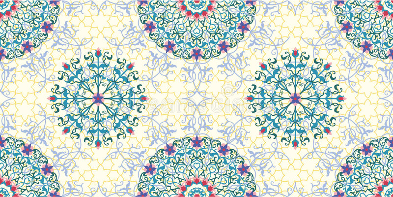 Arabisk bevekelsegrund stock illustrationer
