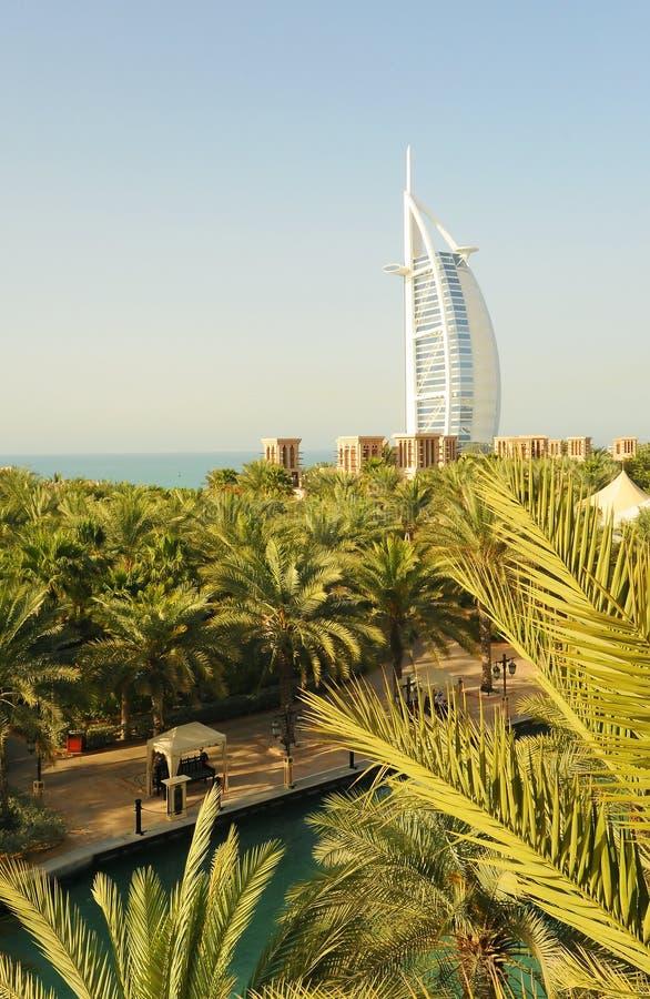 arabisk burj dubai för al fotografering för bildbyråer