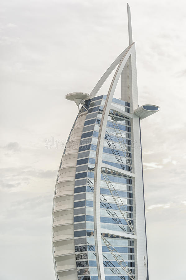 arabisk burj för al royaltyfri bild