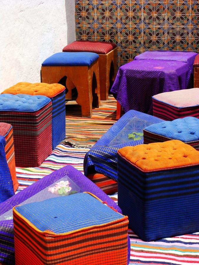 arabisk cafe fotografering för bildbyråer