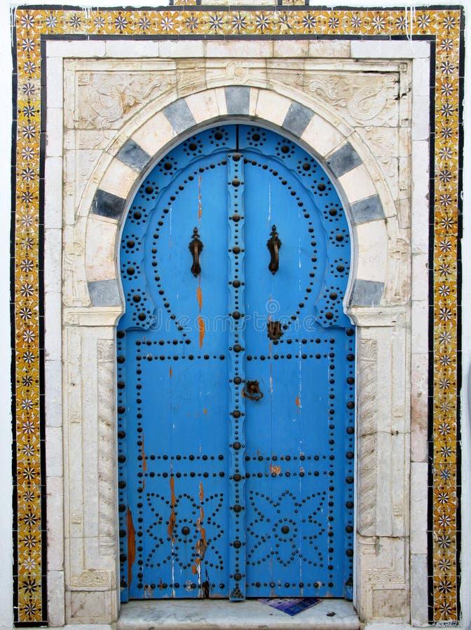 arabisk dörr royaltyfri foto