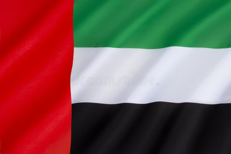 arabisk förenad emiratesflagga royaltyfri bild