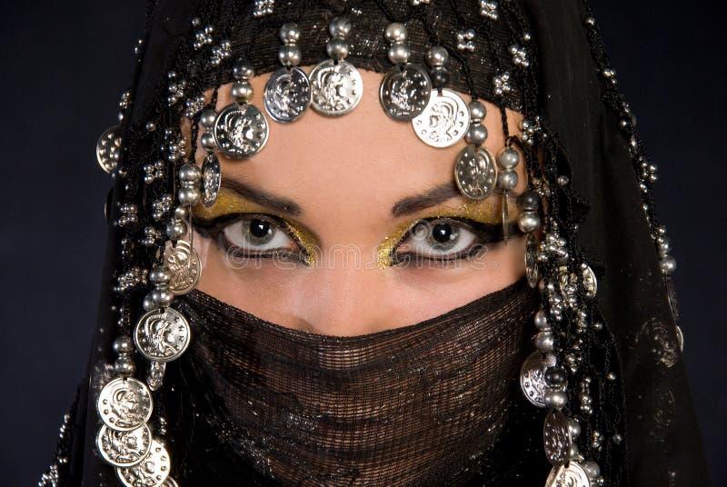 arabisk flicka royaltyfria foton
