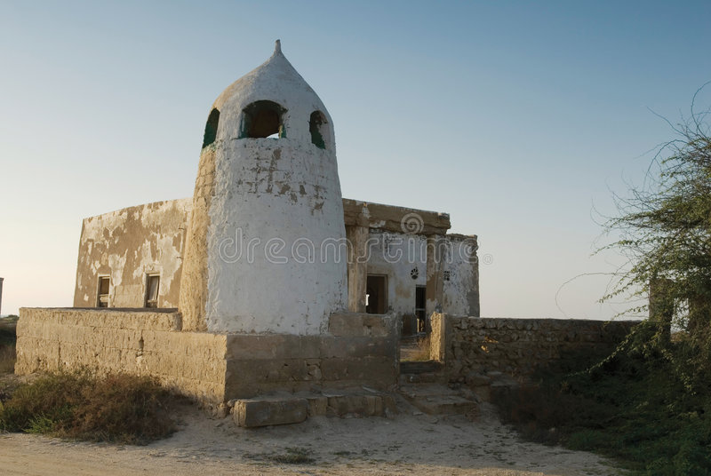 arabisk fort fotografering för bildbyråer