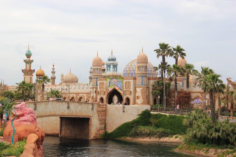 Arabisk kust på Tokyo DisneySea royaltyfri bild