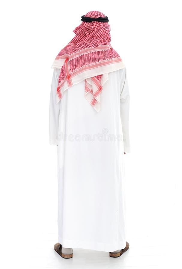 arabisk manstanding royaltyfri foto