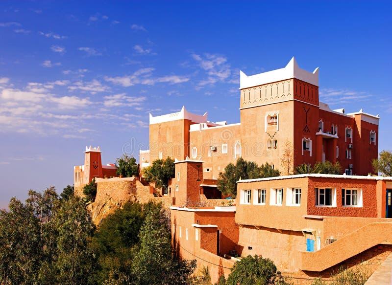 arabisk morocco slott royaltyfri bild